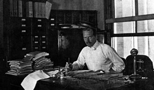 Arthur L. Day, first director of the Geophysical Laboratory, 1906.